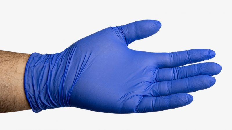 What are the benefits of using nitrile gloves?