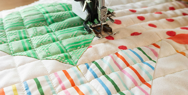 Why use a treadle or a hand held sewing machine during quilting and sewing?