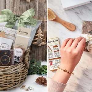 Present a chocolate gift basket for your loved one